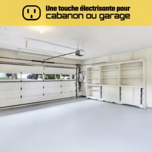 Une touche électrisante pour votre cabanon ou garage
